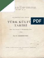 Bahaddin Ögel - İslamiyetten önce Türk kültür tarihi.pdf