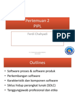 Pertemuan 2 PIPL Proses & Produk Software