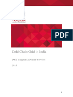 Cold Chain- Grid in India