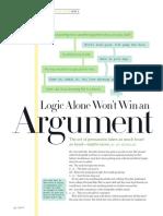 Rhetorical Elements in Argument Article
