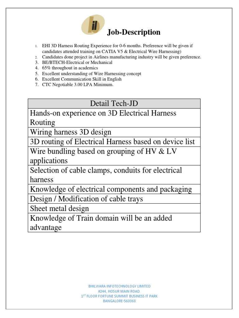 Job Description Of Wiring Harness - Wiring Diagram SchemesWiring Diagram Schemes - Mein-Raetien