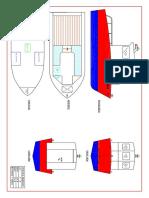 Fishing Boat 5m Dili-1 General Arrangement