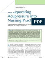 CE Incorporating Acupressure Into Nursing.25