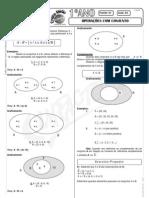 Matemática - Pré-Vestibular Impacto - Conjuntos - Operações com Conjuntos
