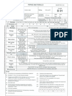 Total Piping Material Spec Sheet