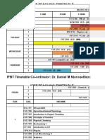 Ifbt Sep-Dec 2017 Teaching Timetable-bsc.food Science_revised 20170915