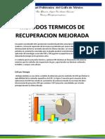 MÉTODOS TÉRMICOS DE RECUPERACIÓN MEJORADA