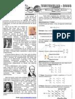 Matemática - Pré-Vestibular Impacto - Determinantes - Conceito e Resolução Ordem 1, 2 e 3