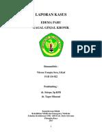 Edema Paru + CKD