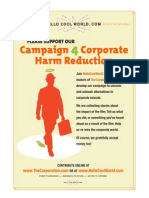The Corporation Supplement Corporate Harm Reduction