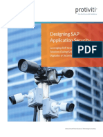 SAP Security Design Document
