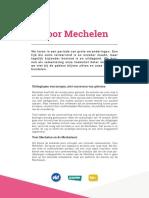 Tekst Voor Mechelen