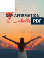 30 Day Affirmations Challenge