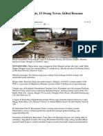 Artikel Banjir
