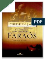 O Egito Dos Grandes Faraós- Christian Jacq