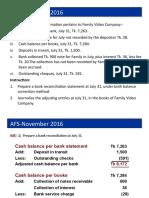 AFS-November 2016 Problem Solved