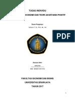 Tugas Ringkasan Teori Akuntansi Dan Perumusannya