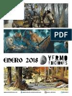 NOVEDADES Yermo Ediciones para Enero 2018