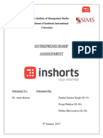 Inshorts Entrepreneur
