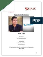 Entrepreneurship Rahul Yadav