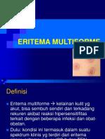 ERITEMA MULTIFORME