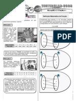 Matemática - Pré-Vestibular Impacto - Funções - Relações e Funções I