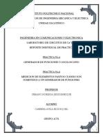 Practica 4 y 5 - Generador de Funciones