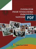 Indikator Pasar Tenaga Kerja Indonesia November 2012