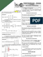 Matemática - Pré-Vestibular Impacto - Matrizes - Aplicações e Propriedades I