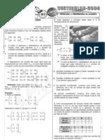 Matemática - Pré-Vestibular Impacto - Matrizes - Operações e Propriedades I