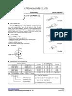 datasheet MOSFET2N65