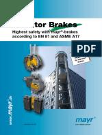 MAYR Elevator Brakes