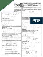 Matemática - Pré-Vestibular Impacto - Sequências - P A  - Definição e Termo Geral I