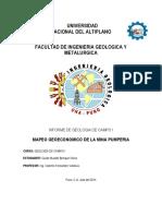 Informe de Geologia Campo i