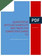 Quantitative Aptitude Shortcuts and Tricks for Competitive Exams