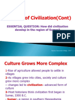 2 1 the Rise of Civilization