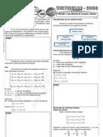 Matemática - Pré-Vestibular Impacto - Sistemas Lineares - Conceito e Classificação I