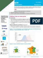 Bulletin de l'organisme Santé Publique France sur la grippe