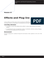 Module 07 - Effects and Plug-Ins