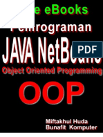 Dasar Pemrograman Java - Object Oriented Programming