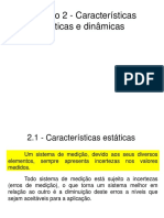 Cap-2-Caracteristicas Estaticas e Dinamicas - sistemas de medição