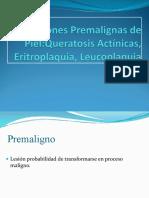 Lesiones Premalignas de Piel