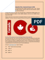 2018 Canada Immigration Plan