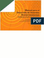 Manual Para El Desarrollo de Viviendas Sismoresistentes - Pnud