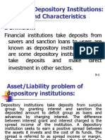 3. Depository Institutions