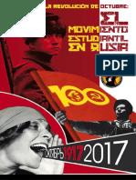 El movimiento estudiantil en Rusia