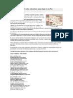 Redes Educativas Para Elegir en La Paz