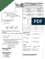 Matemática - Pré-Vestibular Impacto - Trigonometria - Relações Trigonométricas no Triângulo Retângulo