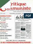 Critique Communiste