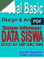 Skripsi Visual Basic 6.0 - Desain dan Analisis Sistem Informasi Data Siswa Sekolah SMP SMU SMK